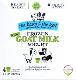 Bear & Rat The Bear & the Rat Goat Milk Frozen Yogurt Dog Treat