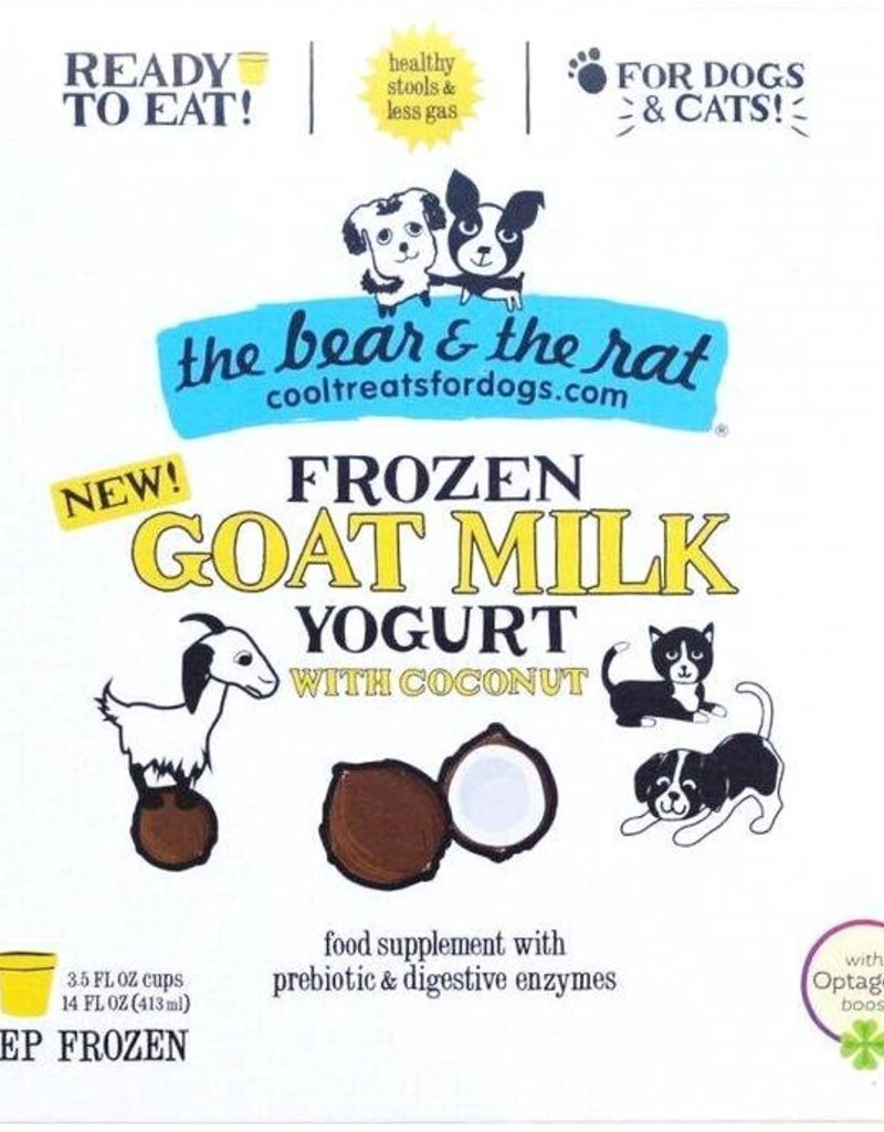 Bear & Rat The Bear & the Rat Coconut & Goat Milk Frozen Yogurt Dog Treat