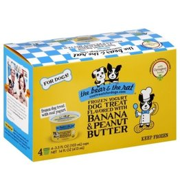 Bear & Rat The Bear & the Rat Banana & Peanut Butter Frozen Yogurt Dog Treat