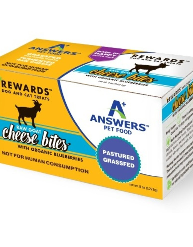 Answers ANSWERS Goat Cheese & Blueberry Treat 8oz