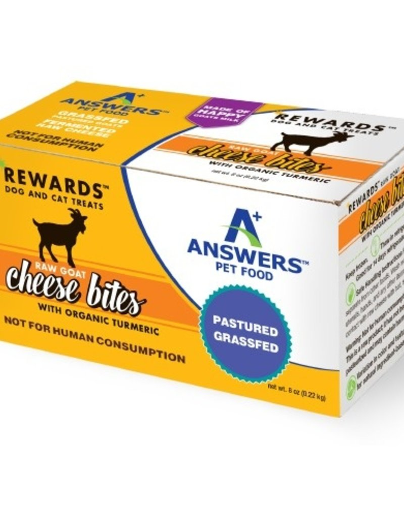 Answers Answers Goat Cheese & Turmeric Treats 8oz