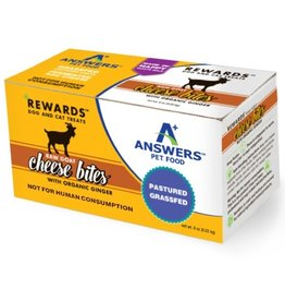 Answers Answers  Goat Cheese & Ginger Treats 8oz