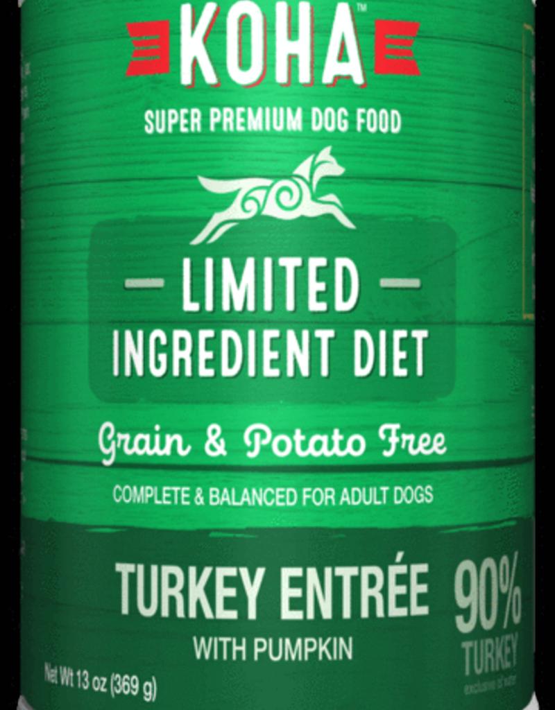 Koha KOHA Limited Ingredient Diet Turkey Dog Food Can 13oz