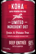 Koha KOHA Limited Ingredient Diet Beef Dog Food Can 13oz