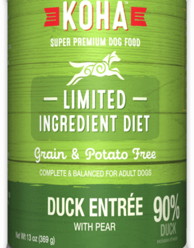 Koha KOHA Limited Ingredient Diet Duck Dog Food Can 13oz