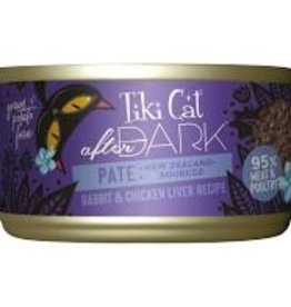 Tiki Cat & Tiki Dog Tiki Cat After Dark Rabbit Pate Cat Food Can 3oz