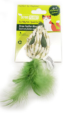 Define Planet Define Planet Straw Feather Mouse Cat Toy