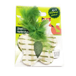 Define Planet Define Planet Straw Feather Butterfly Cat Toy