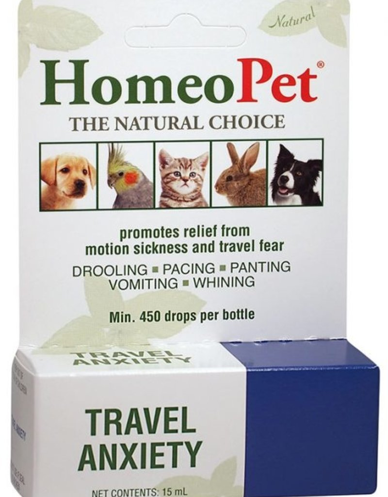 Homeopet Solutions HomeoPet Travel Anxiety Drops 15ml