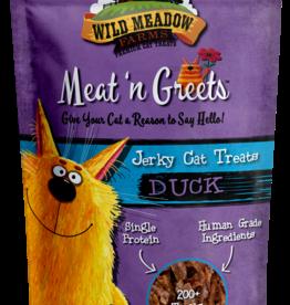 Wild Meadow Farms Wild Meadow Farms Meat 'n Greets Duck Jerky Cat Treats 2oz