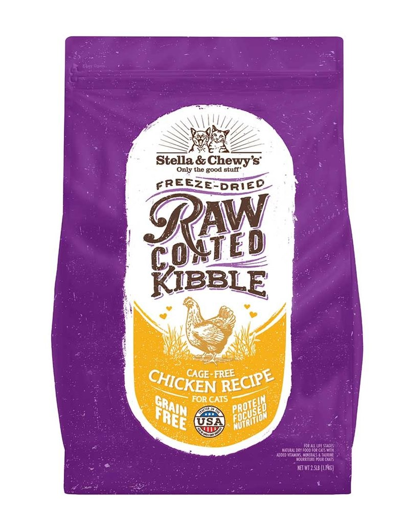 Stella & Chewys Stella and Chewy's Raw Coated Chicken Cat Food