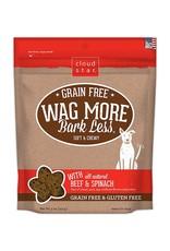 Cloud Star Wag More Soft & Chewy Grain Free Beef Dog Treats 5oz