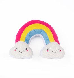Zippy Paws ZippyPaws Squeakie Pattiez Rainbow Toy Dog