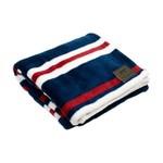 "Tall Tails TALL TAILS Fleece Blanket Nautical Stripe 30x40"""