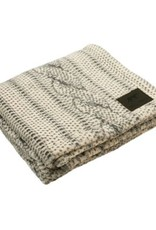 """Tall Tails TALL TAILS Fleece Blanket Cable Knit Print 30x40"""""""