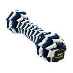 """Tall Tails TALL TAILS Braided Bone Navy 9"""" Dog Toy"""