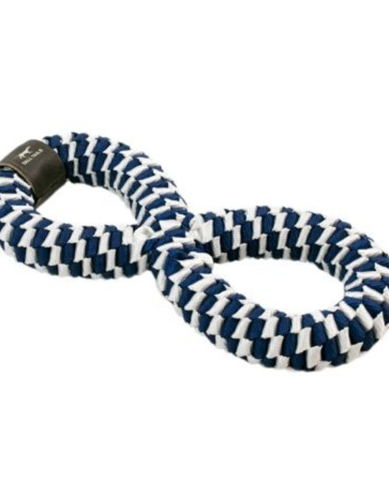 """Tall Tails TALL TAILS Braided Infinity Tug Navy 11"""" Dog Toy"""