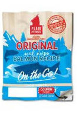 Plato Pet Treats PLATO On The Go Real Strips Salmon Dog Treats Single - Final Sale - No returns/exchanges
