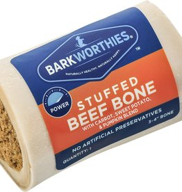 Barkworthies Barkworthies Sweet Potato & Pumpkin Stuffed Shin Bone 5-6""