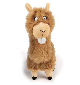 Worldwise/QPG/GoDog GoDog Buck Tooth Llama Dog Toy Large
