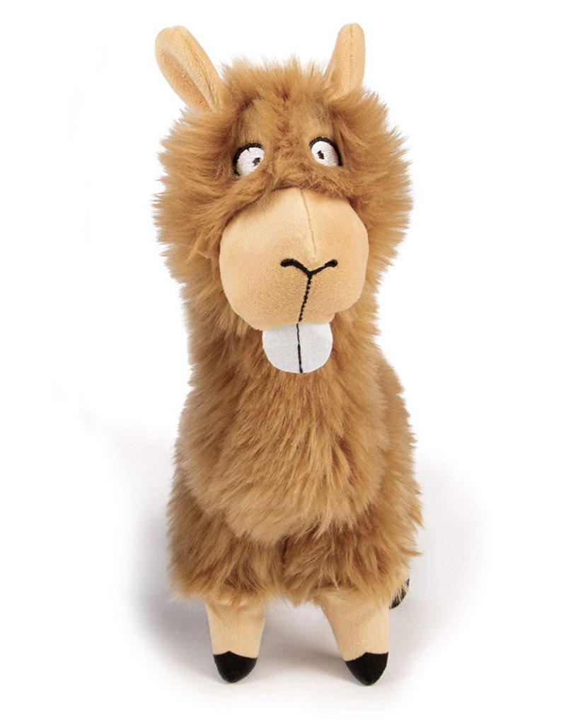 Worldwise/QPG/GoDog GoDog Buck Tooth Llama Dog Toy Large