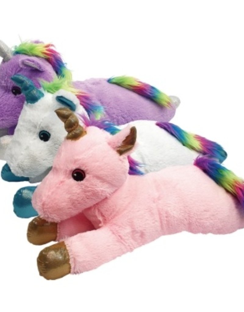 MultiPet Multipet Jumbo Unicorn Dog Toy 24""