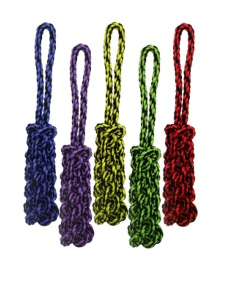 """MultiPet Multipet Nuts for Knots Tug w/ Braided Stick Dog Toy 16"""""""