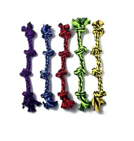 MultiPet Multipet Nuts For Knots 4-Knot Rope Dog Toy 25""