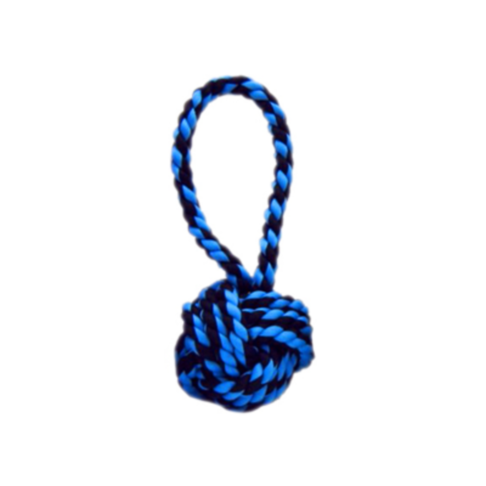 MultiPet Multipet Nuts For Knots Ball w/ Tug Dog Toy 14''