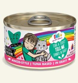 Weruva Weruva BFF OMG Tell Me Tuna Turkey Cat Can 2.8oz