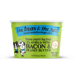 Bear & Rat The Bear & the Rat Bacon & Peanut Butter Frozen Yogurt Dog Treat