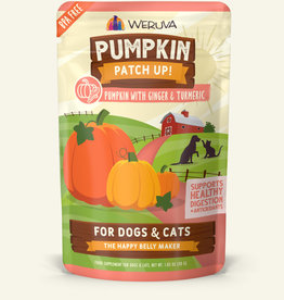 Weruva Weruva Pumpkin Patch Ginger & Turmeric Dog and Cat Supplement Pouch