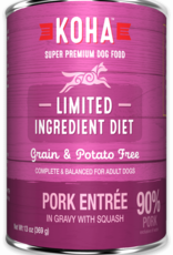 Koha KOHA Limited Ingredient Diet Pork Dog Food Can 13oz