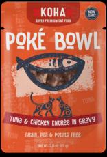 Koha KOHA Poke Bowl Tuna & Chicken in Gravy Cat Food Pouch 2.8oz