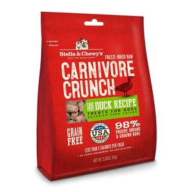 Stella & Chewys Stella & Chewy's Carnivore Crunch Duck Dog Treats 3.25oz