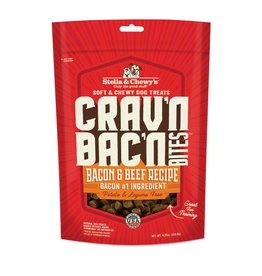 Stella & Chewys Stella & Chewy's Crav'n Bites Bacon & Beef Dog Treats 8.25oz