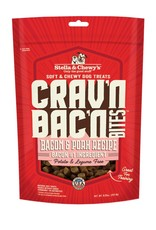 Stella & Chewys Stella & Chewy's Crav'n Bites Bacon & Pork Dog Treats 8.25oz