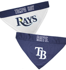 Pets First Pets First Tampa Rays Reversible Dog Bandana L-XL