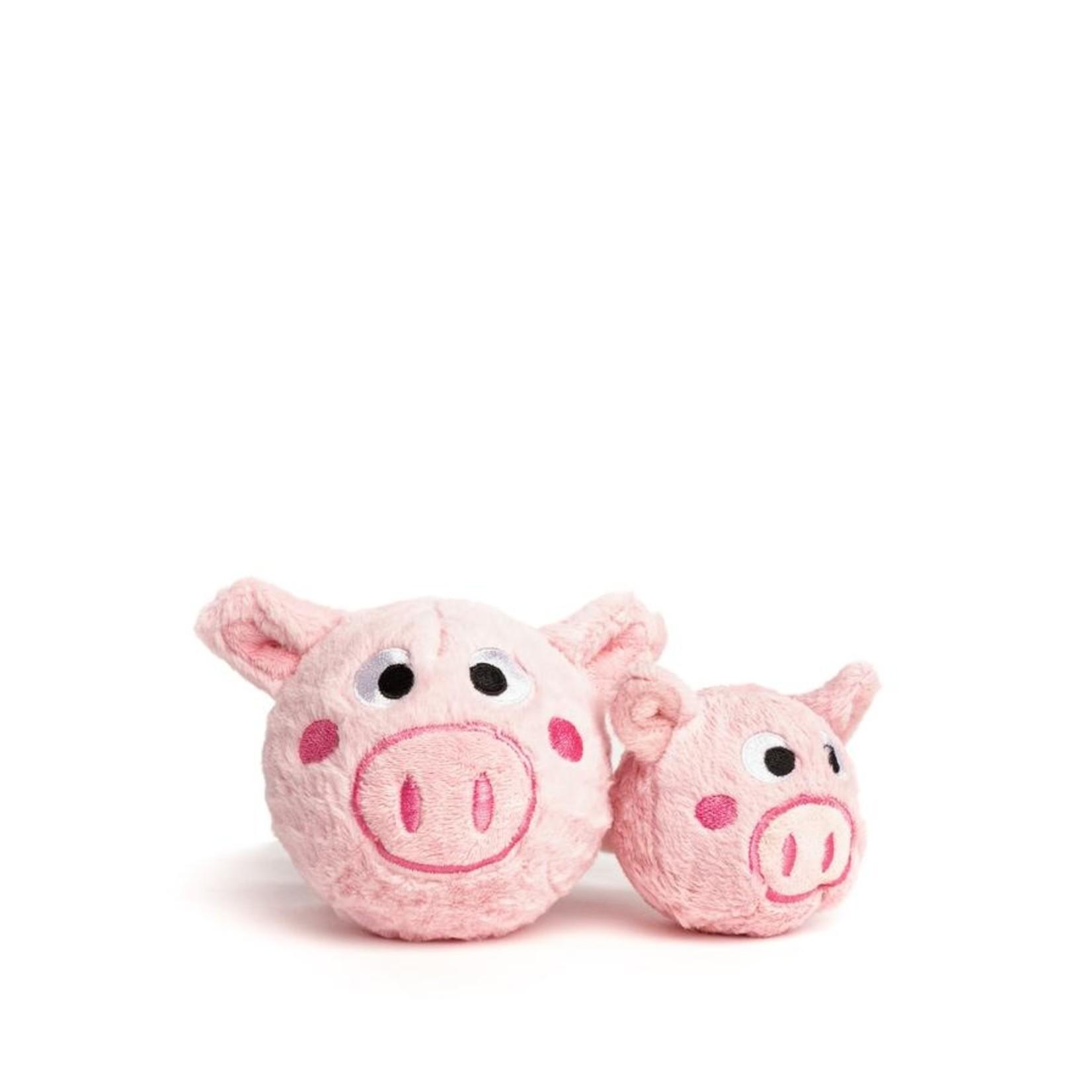 Fabdog Fabdog Faball Pig Dog Toy Medium
