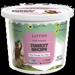 Lotus Lotus Frozen Raw Turkey Cat Food 24oz