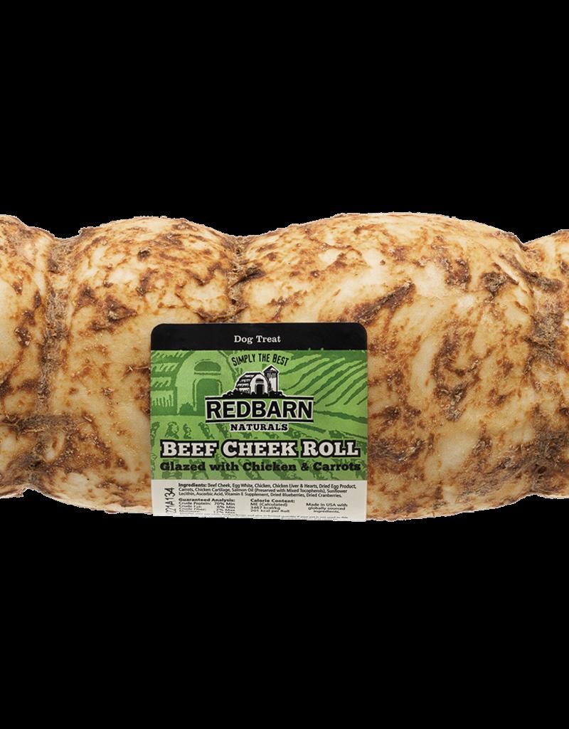 Red Barn REDBARN Glazed Beef Cheek Roll Dog Chew Single