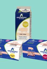 Answers Answers Detailed Raw  Pork Dog Food