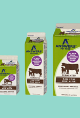 Answers Answers Fermented Raw Cow Milk Kefir