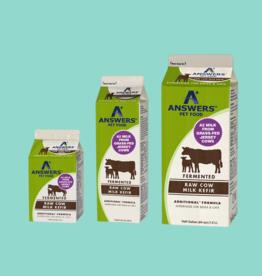 Answers Answers Fermented Raw Cow Milk Kefir