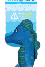 Spunky Pup Spunkypup Clean Earth Seahorse Dog Toy