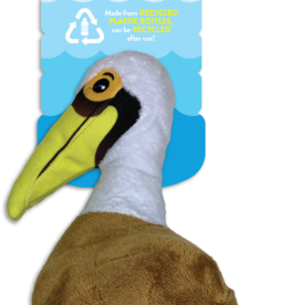 Spunky Pup Spunkypup Clean Earth Pelican Dog Toy