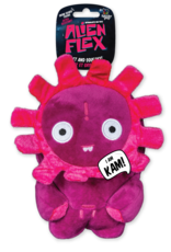 Spunky Pup Spunkypup Alien Flex Kam Dog Toy