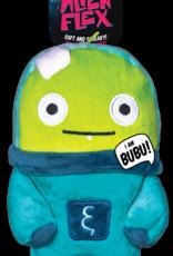 Spunky Pup Spunkypup Alien Flex Bubu Dog Toy