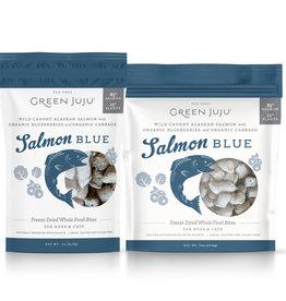 Green Juju Green Juju Freeze Dried Topper Salmon Blue Dog Treat