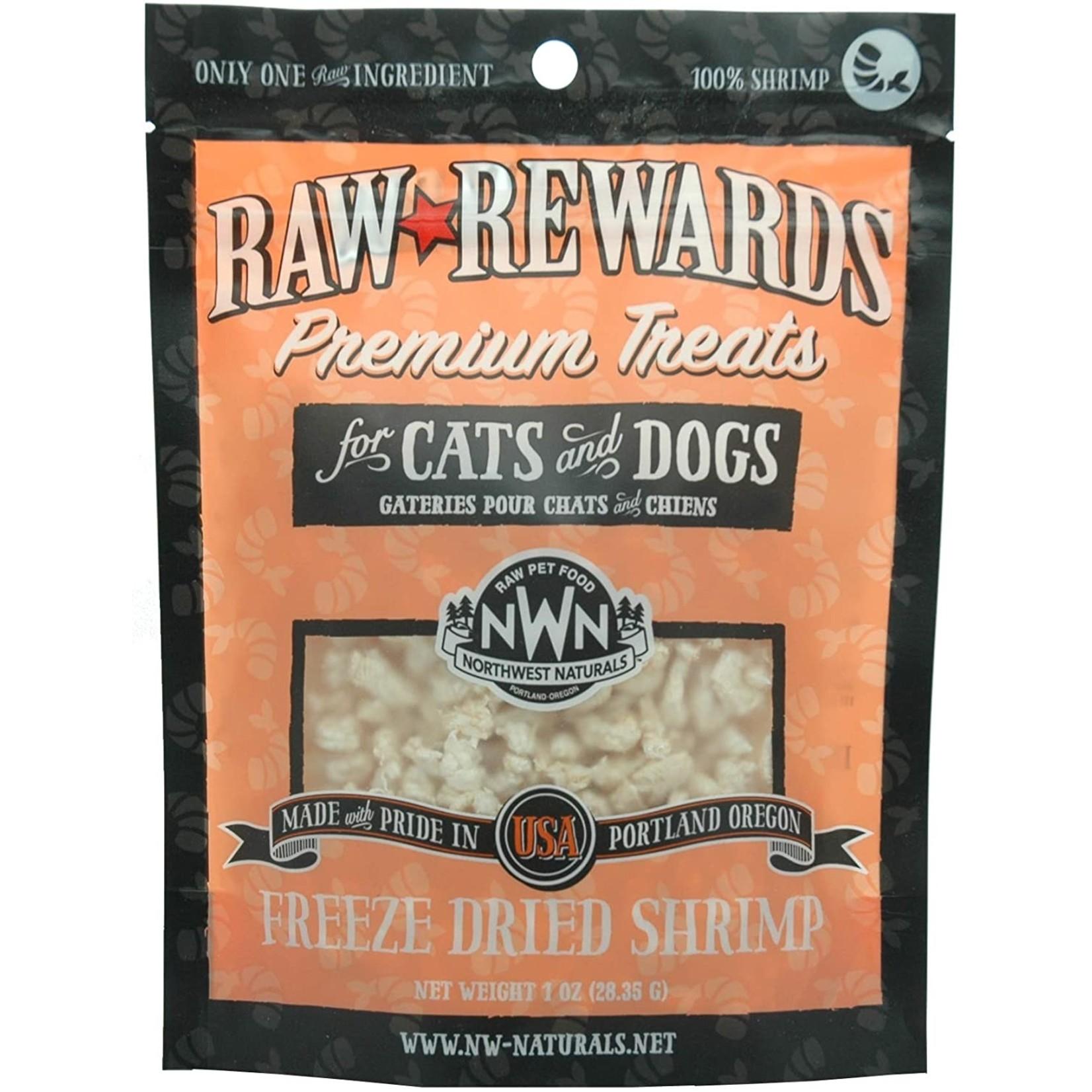 Northwest Naturals Northwest Naturals Freeze Dried Shrimp Dog Treat 1oz